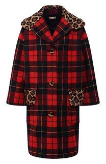 Шерстяное пальто Michael Kors Collection