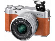 Фотоаппарат Fujifilm X-A20 Kit XC 15-45mm F/3.5-5.6 OIS PZ Brown