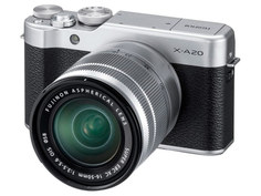 Фотоаппарат Fujifilm X-A20 Kit XC 15-45mm F/3.5-5.6 OIS PZ Silver