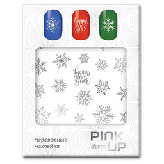 Наклейки для ногтей переводные PINK UP NAIL DESIGN тон 604