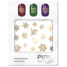 Наклейки для ногтей переводные PINK UP NAIL DESIGN тон 603