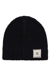 Черная вязаная шапка Grunge John Orchestra Explosion