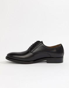 Черные кожаные туфли на шнуровке ALDO Eloie - Черный