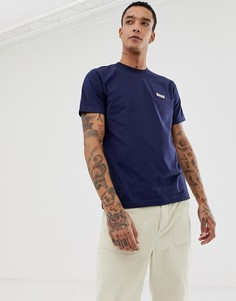 Темно-синяя футболка с логотипом Nudie Jeans Co Daniel - Темно-синий