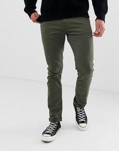 Зеленые облегающие чиносы Nudie Jeans Co Adam - Зеленый