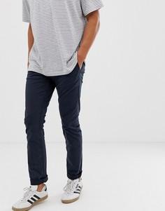 Темно-синие узкие чиносы Nudie Jeans Co - Темно-синий