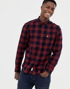 Красная фланелевая рубашка в клетку Jack Wills - Красный