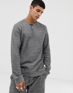 Серый свитшот с круглым вырезом Paul Smith - Серый