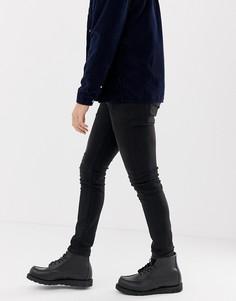 Черные джинсы слим Nudie Jeans Co Lean Dean - Черный