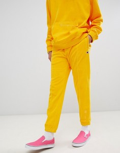 Желтые велюровые джоггеры Champion - Желтый