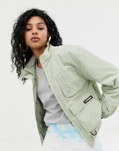 Куртка с накладными карманами Stussy - Бежевый