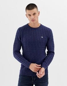 Темно-синий джемпер в крапинку с добавлением шерсти Jack Wills - Темно-синий