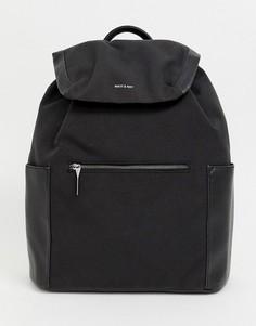 Черный рюкзак для ноутбука Matt & Nat greco - Черный