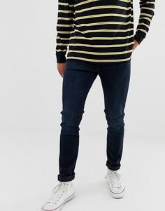 Выбеленные джинсы скинни цвета индиго Levis 510 - Темно-синий