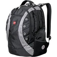 Рюкзак Wenger ZOOM черный/серый (1191215)