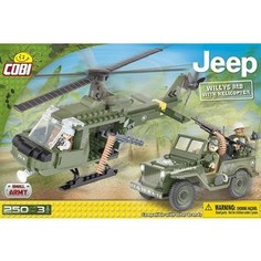 Конструктор COBI Jeep Willys MB with Helicopter Co.Bi.
