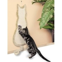 Когтеточка TRIXIE Кошка бежевая для кошек 35х69см (43112)
