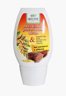 Сыворотка для лица Bione Cosmetics Антивозрастная, нормальной и сухой кожи, с аргановым маслом и маслом ши, 40 мл