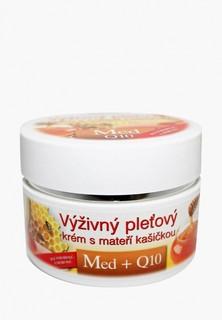 Крем для лица Bione Cosmetics с маточным молочком Мед + Q10, 51 мл