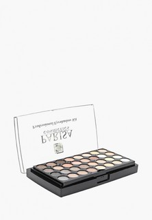 Палетка для лица Parisa теней +Румяна+пудра №2 перламутр натурально-коричневый-серый микс 40 гр