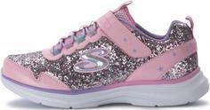 Кроссовки для девочек Skechers Glimmer Kicks, размер 28,5