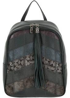 Городской кожаный рюкзак с одним отделом Fiato
