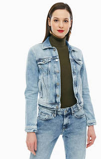 Джинсовая куртка на болтах с карманами Pepe Jeans