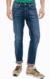 Синие зауженные джинсы со стандартной посадкой Chepstow Pepe Jeans