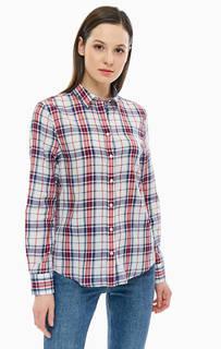 Рубашка из хлопка в клетку Gant