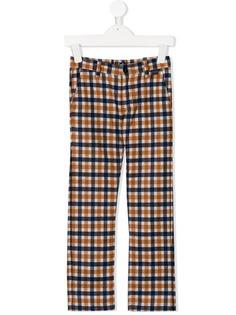 Il Gufo клетчатые брюки-чинос