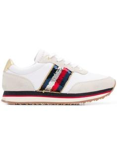 Tommy Hilfiger беговые кроссовки с пайетками