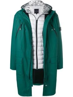 Tommy Hilfiger непромокаемое пальто с нашивкой на рукаве
