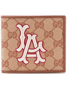 Gucci кошелек с нашивкой New York Yankees
