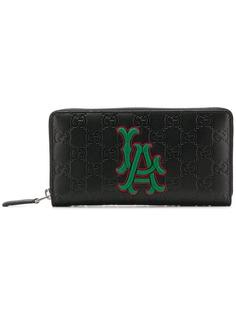 Gucci кошелек с нашивкой LA Angels