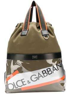 Dolce & Gabbana рюкзак с логотипом Street