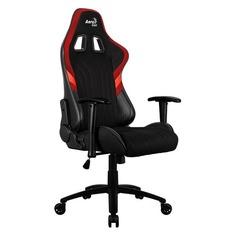 Кресло игровое AEROCOOL AERO 1 Alpha BR, на колесиках, ткань дышащая [acgc-2017101.r1]