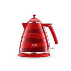 Чайник электрический DELONGHI KBA2001.R, 2000Вт, красный Delonghi