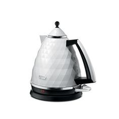 Чайник электрический DELONGHI KBJ 2001.W, 2000Вт, белый Delonghi