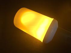 Лампочка Espada Пламя E-E27-2835-7W 85-265V 43448