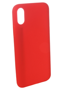 Аксессуар Чехол для APPLE iPhone XS Pero Soft Touch Red PRSTC-IXSR ПЕРО
