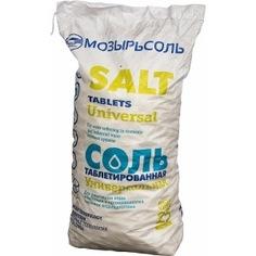 Таблетированная импортная соль 25кг гейзер 41002