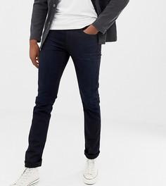 Черно-синие суженные книзу джинсы Nudie Jeans Co Tall Lean Dean - Синий