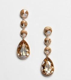 Серьги с камнем ALDO - Золотой