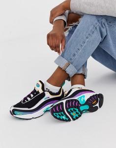 Фиолетовые кроссовки Reebok Daytona DMX - Фиолетовый