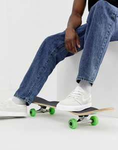 Белые кроссовки Nike SB Zoom Stefan Janoski - Белый