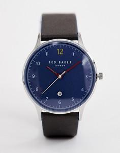Часы с кожаным ремешком Ted Baker Ethan - Зеленый