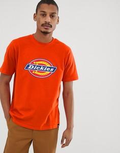 Оранжевая футболка Dickies Horsehoe - Оранжевый