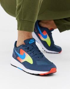 Темно-синие кроссовки Nike Air Skylon II - Темно-синий