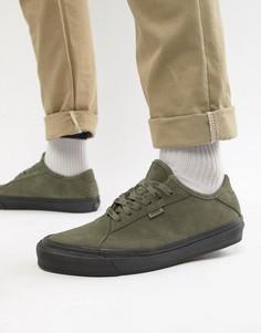 Замшевые кроссовки цвета хаки Vans Diamo VN0A3TKDUMB1 - Зеленый