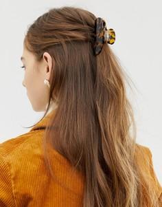 Черепаховая заколка для волос ASOS DESIGN - Мульти